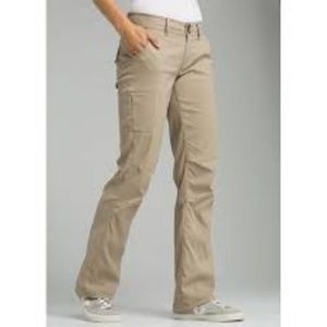 Prana Halle Convertible Hiking Pants UPF 50 Capri